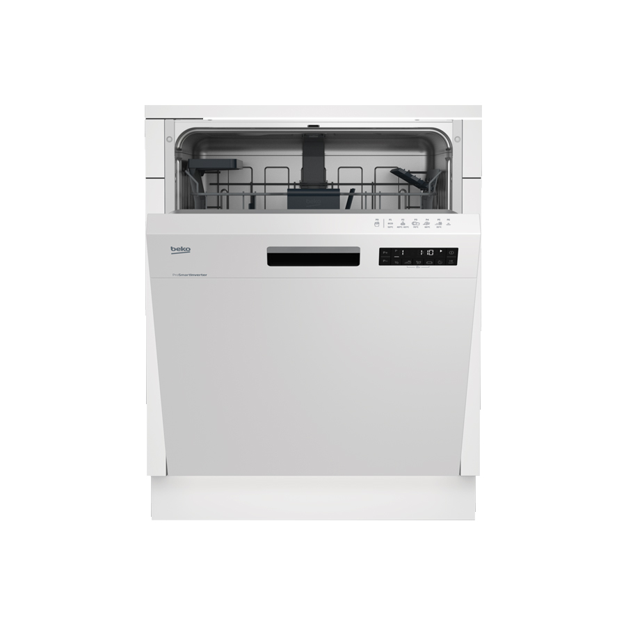 Beko polu-ugr. mašina za suđe DSN 26420 W 2